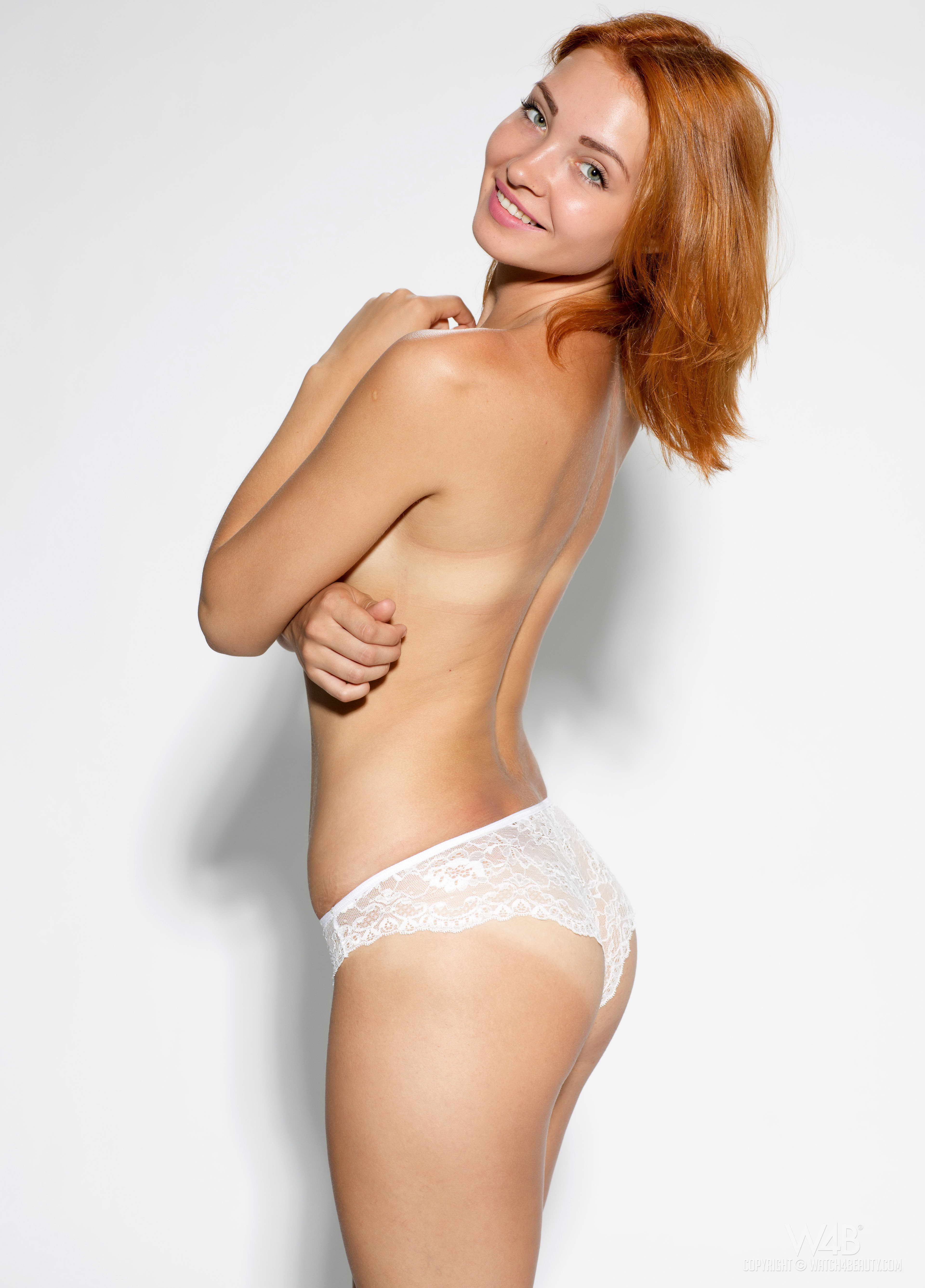 Redhead Teen With Tempting Body